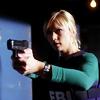 skieswideopen: JJ aiming a gun (Criminal Minds: JJ)