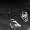 skieswideopen: Emily Prentiss aiming a gun (Criminal Minds: Prentiss armed)