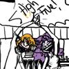 impersona: (Deon/Mara High Five!)