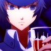 shiroganeheir: (with drink)