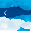 marcicat: (moon with clouds)
