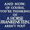fengirl88: (horse-frankenstein)