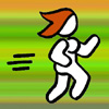 temve: Chibi figure of me running (Run Tem Run)