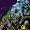 sharpest_asp: Cutter cradling the injured Redlance to his chest (Elfquest: Cutter with Redlance)