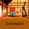 "simply_shipping: Sokka kneeling in front of Suki, with the caption ""Submission"" (Default)"
