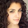 rhiannonsystem: a headshot of a girl with dark curly hair and dark eyes (Evangeline Lorne)