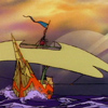 eggplantlady: The Wraith, from The Pirates of Dark Water (PoDW Wraith)