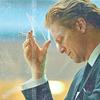 skieswideopen: Daniel Greystone smoking (Caprica: Daniel Greystone)