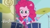 angyl: Pinkie Pie humanized drumming (EAT DRUM, pinkie pie)