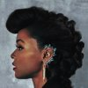 onyxlynx: Janelle Monae, left profile, with ear ornament. (Prime Time!)