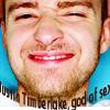 pensnest: Justin gurning in close up (Justin Timberlake god of sex)