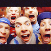 pensnest: Backstreet closeup terrified faces (Backstreet Five)