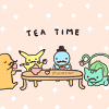 terabient: Pokemon having a tea party :3 (Pokemon: Tea time!)