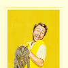 goodbyebird: It|s Always Sunny In Philadelphia: Charlie cheerfully holds a cat. (IASIP kitten mittens!!)