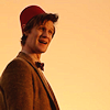syntaxofthings: The Eleventh Doctor looking silly. ([dr who] eleventh doctor wearing a silly)