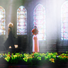 white_materia: ((aerith & cloud) in the church)