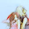 white_materia: ((aerith & cloud) fanart)