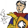 highways: [Concept art of Eric from the cartoon Dungeons & Dragons, wiping some dirt off his shoulder.] (D & D ☌ that was nothing.)