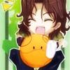 whymzycal: Chibi Lockon and Haro from Gundam 00 (lockon and haro chibi squee)