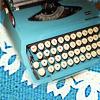 polarishotel: (blue typewriter)