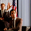balsamandash: Neal Caffrey (White Collar) raising his hand (wc] hands up)