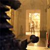 labellementeuse: in the foreground a silhouette of a Dalek; in the distance River Song, framed in a doorway. (dw river is epic)