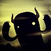 nightbird: Illustration, monster, gloomy, yellow backlight (needs more monsters)