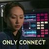 lilacsigil: Hoshi Sato, text: only connect (Hoshi Sato)