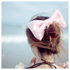 willablythe: Hair Bow (bow, girl, hair)