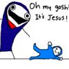 chickgonebad: Nativity from Hyperbole and a Half (nativity, jesus)