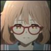 halfemptyglasses: Mirai crying (crying)