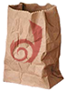 piranha: crumpled paper bag with dreamwidth logo (hyperventilate)