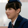 reka: A woman smiling a little at something she's heard. (Kiriko)