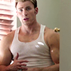 assembles: (of steve in this tanktop)