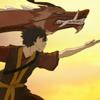 musesfool: Zuko & the dragon (lucky to be born)
