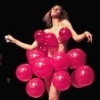 musesfool: woman covered in balloons (the joy it brings)