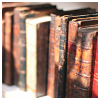 semielliptical: old books (books)