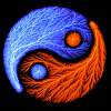 toyemanate: (electric yin yang)