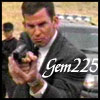gem225: clark palmer aiming a gun (palmer1, palmer with gun)