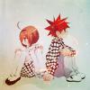 ext_3288: daisuke and riku back to back (Default)