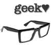 geek: (geek, glasses)