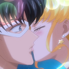 alexseanchai: Sailor Moon and Tuxedo Mask kiss (Sailor Moon Crystal Sailor Moon/Tuxedo M)