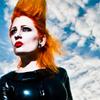 seelengeil: (red hair black latex)