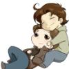 loveinstars: (snuggle-samgabe, Snuggle-SamGabe)