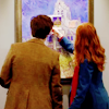 juniperphoenix: Amy and the Doctor at Musée d'Orsay (DW: Companions)