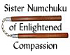 cynthia1960: (Sr. Numchuku of Enlightened Compassion)