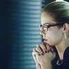 musesfool: Felicity Smoak (on my knees to pray)