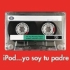 "notthemarimba: a cassette tape with the words ""ipod, yo soy tu padre"" (cassette tape)"