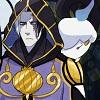 eagleoftheninth: Ghosties! (Kanbei and Litwick)