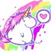 tehomet: (Fat happy unicorn rainbow love)